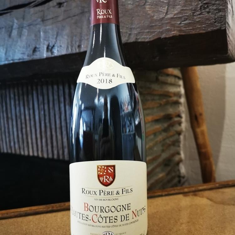 Hautes Côtes de Nuit rouge Domaine Roux père et fils Bourgogne