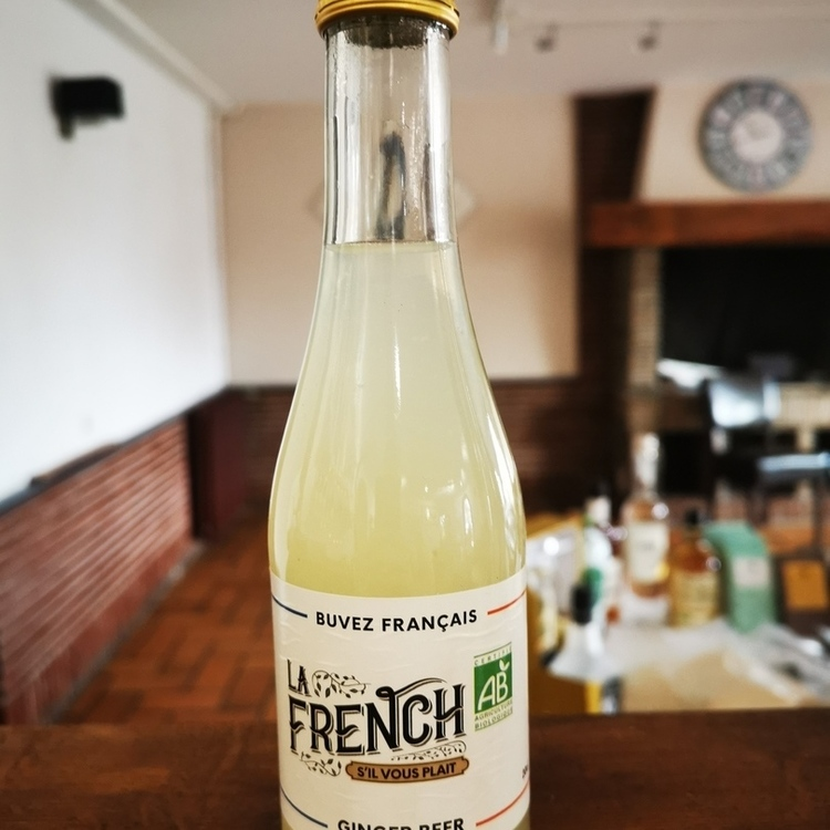 La French tonic gingembre bio