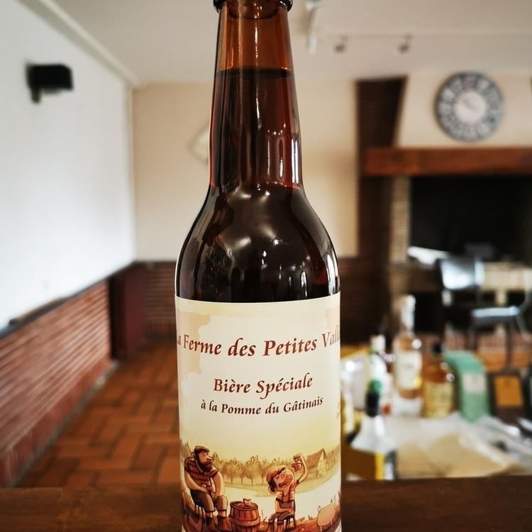 Bière rousse cidrerie Ducardonnet