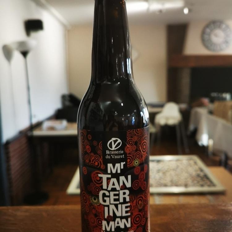 Bière IPA Tangerine man Brasserie du Vauret