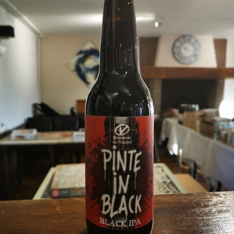 Bière Black IPA Pinte in Black Brasserie du Vauret