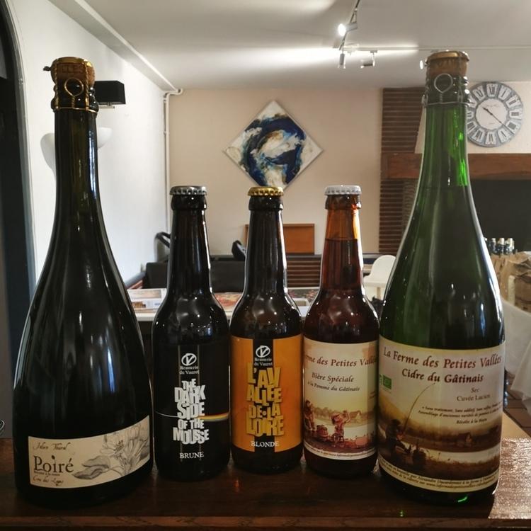 Cidre, Poiré et bière